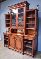 Gillow & Co Library Walnut Bookcase (11 of 15)