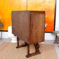 Carved Oak Sideboard Cupboard (4 of 13)