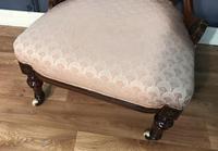 Victorian Burr Walnut & Inlaid Salon Suite (22 of 38)