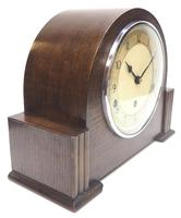 Fine Garrard Art Deco Mantel Clock 8 Day Westminster Chime Mantle Clock (8 of 11)