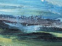 20th Century Oil Painting Wales Menai Bridge Church Straits Snowdonia Mountains (18 of 27)