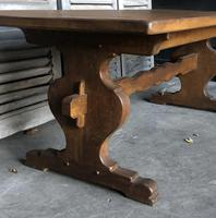 French Farmhouse Trestle Dining Table (6 of 15)