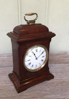 Small Mahogany 18th Century Style Bracket Clock (6 of 11)