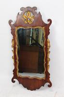 Georgian Mahogany Chippendale Fretwork Mirror (3 of 13)