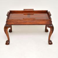 Mahogany Chippendale Style Tray Top Coffee Table (4 of 12)