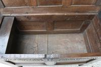 Handsome 17th Century Small Proportioned Oak Coffer c.1680 (10 of 13)