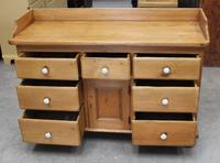 1900's Quality Country Pine Dog Kennel Dresser Base (3 of 5)