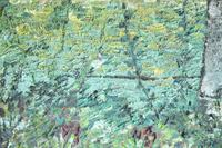 Early 20th Century British School A Town Garden Oil on Board (5 of 9)
