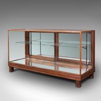 Antique Haberdasher's Display Cabinet, English, Mahogany, Showcase, Edwardian (3 of 12)