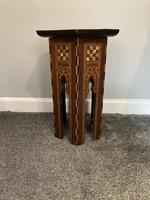 Anglo Moorish Occasional Table possibly retailed by Liberty & co