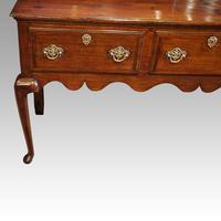 Fine George III Oak Cabriole Leg Dresser (7 of 8)