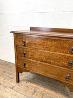 Early 20th Century Oak Chest of Drawers (4 of 9)