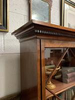 Late Victorian Bookcase with Glazed Door & Adjustable Shelves (4 of 7)