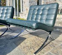 Pair of Barcelona Chairs & Ottoman (3 of 30)