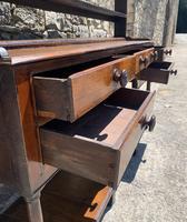 Antique Georgian Oak Potboard Dresser (18 of 28)