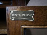 Wood Bros Old Charm Oak Hi Fi Cabinet (5 of 12)