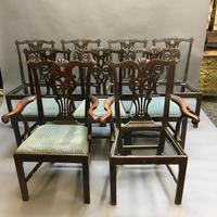 Set of 18th Century Mahogany Dining Chairs (19 of 21)