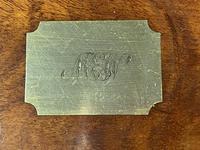 Georgian Brass Inlaid Mahogany Jewellery Box. (17 of 20)