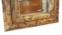 Bamboo Overmantle or Wall Mirror Mid 20th Century (3 of 5)