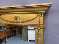 19th Century Gilt Overmantle Mirror (3 of 5)