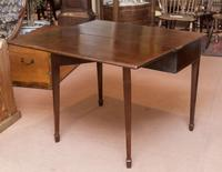 Mahogany Tea Table with Fold-Over Top (3 of 4)