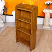 Open Bookcase Bookshelves Carved Beech Wood (6 of 7)