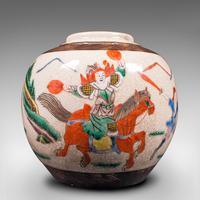 Small Antique Flower Vase, Japanese, Ceramic, Posy Urn, Edo Period c.1850 (8 of 12)