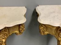 Pair of 19th Century French Gilt Console Pier Tables (11 of 13)
