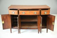 Antique Mahogany Side Cabinet (3 of 8)