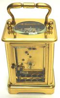 Fine Antique French 8-day Carriage Clock Timepiece - Interesting & Rare Size c.1870 (7 of 13)