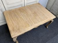 French Bleached Oak Extending Dining Table (9 of 17)