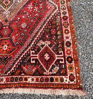 Traditional Persian Qashqai Wool Rug (3 of 5)