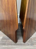 Pair of Mid Century G Plan E Gomme Pyramid Teak Open Corner Bookcases (25 of 38)