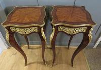 Stunning Pair of French Side Tables Gueridons (8 of 8)