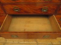 Substantial Antique Bank Of 18 Shop Drawers (4 of 25)