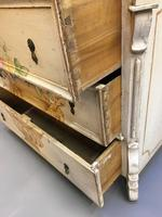 19th Century Painted Commode Chest of Drawers (6 of 12)