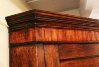 Antique Country Oak panelled Corner Cupboard. Circa 1800 (7 of 12)