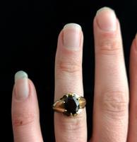 Vintage Garnet Dress Ring, 9ct Gold (15 of 16)