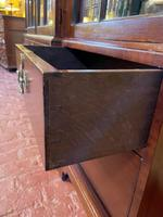 Four Doors Breakfront Bookcase In Mahogany - Early 19th Century (11 of 11)