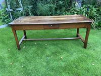 18th Century Cherrywood Farmhouse Table (7 of 9)