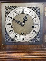 19th Century Walnut Mantle Clock (4 of 6)