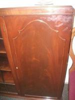 Large Glazed Mahogany Bookcase Cabinet (2 of 4)