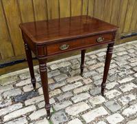 Gillows Small Mahogany Writing Table (2 of 6)