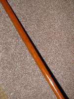 "Vintage Gents Malacca Cane Hunt Whip With Leather Thong - ""G.C.Elsworth"" (6 of 10)"