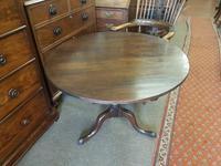 georgian oak tilt top / tripod  table (4 of 4)