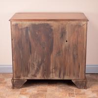 Mahogany Kneehole Desk With Brushing Slide (17 of 17)