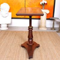 Portable Adjustable Writing Desk 19th Century Mahogany (5 of 12)