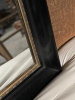 French Ebonised 19th Century Wall Mirror (4 of 16)