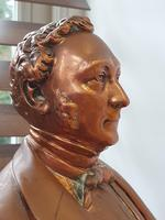Superb Rare Large 19th Century Photo Sculpture Copper Bust by Willeme (7 of 11)