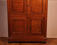 Small 4 Doors Buffet in Blond Oak - 19th Century (7 of 9)